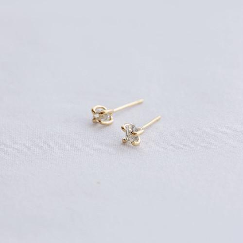 Diamond / Ear - S <Gold> (single)