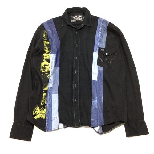 COTEMER ORIGINAL REMAKE  SHIRTS リメイクチェックシャツ【Shirts10】
