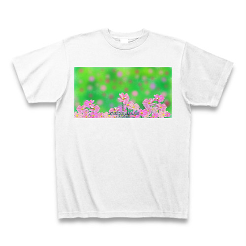 「コスモスと蜂」Tシャツ
