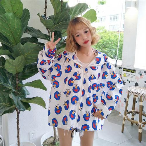 【新作10%off】chara printed oversize jacket 2769