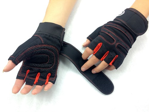 Strong Gym Fitness Gloves Power Luvas Fitness Academia  Anti-skid Guantes Protective Crossfit Gym Gloves Weight  Lifting for Sport