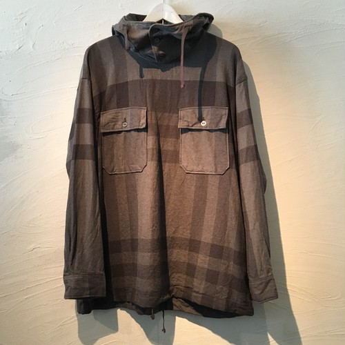 Engineered Garments(エンジニアド ガーメンツ)2017FW Cagoule Shirt-Big Plaid