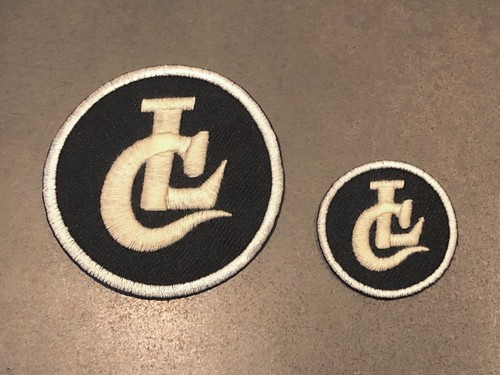 EMBROIDARY PATCH / LC (BLACK) / LOST CONTROL