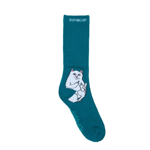RIPNDIP - Lord Nermal Socks (Aqua)
