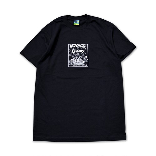 VOYAGE UTOPIA /  VOYAGE IN GLORY T-SHIRT -BLACK-