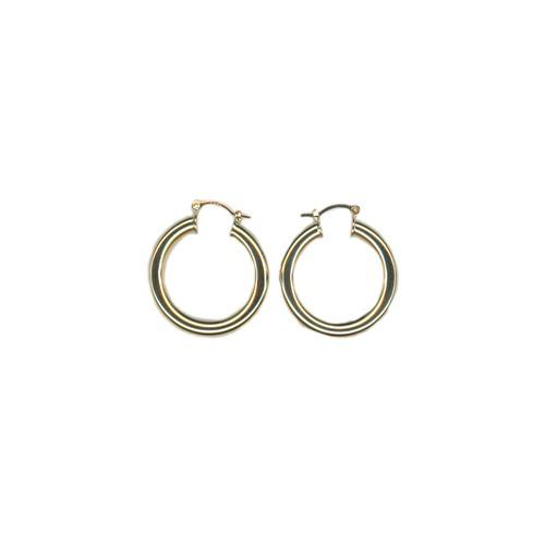 【GF2-18】gold filled hoop earring