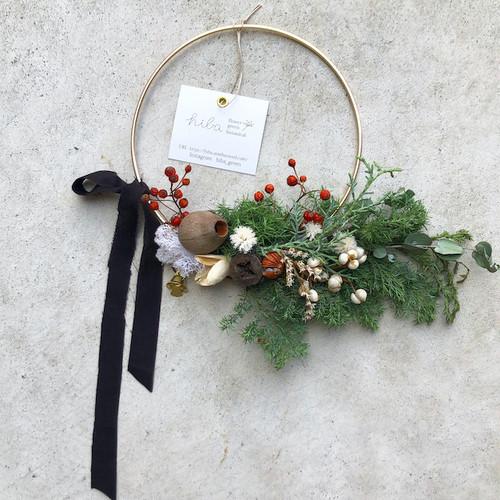 "hiba ""Wire Christmas wreath"""