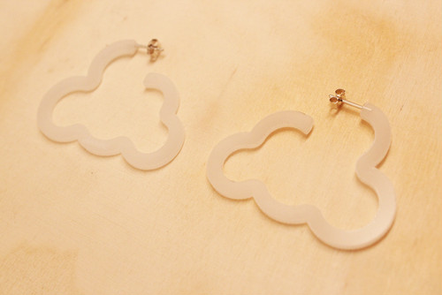 nature pierce / cloud white