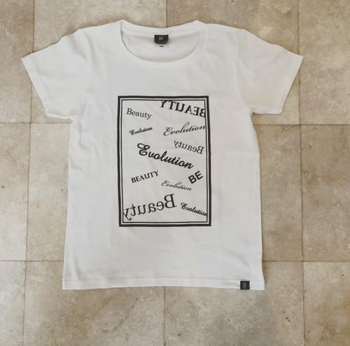 BE Tシャツ デザイン (WHITE)