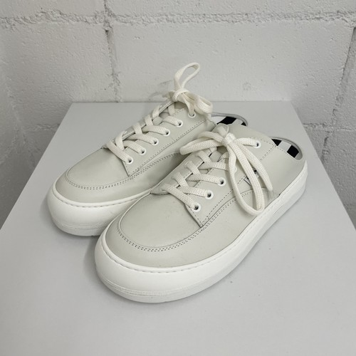 『SUNNEI』leather dreamy sabot / OFF WHITE