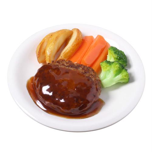 [7008]食品サンプル屋さんのミニグルメ(ハンバーグ)【メール便・ラッピング不可】