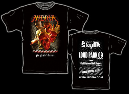 HIBRIA 2009年来日記念限定Tシャツ(2)