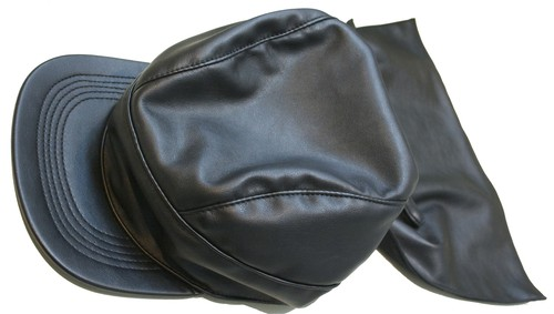 KTZ FAUX LEATHER WRAPPING CAP フェイク レザー ラッピング キャップ / BLACK 50%OFF