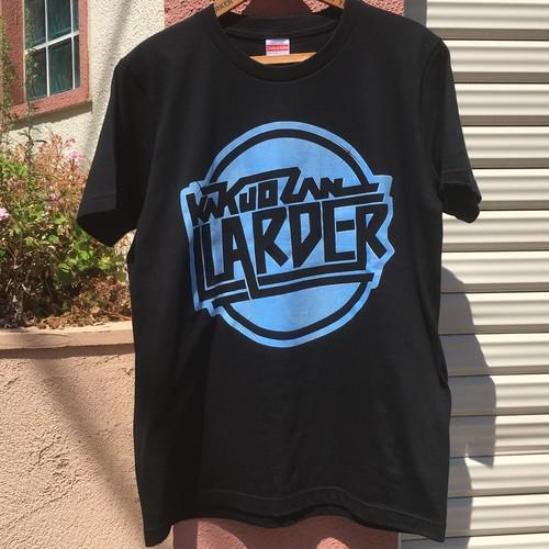 "LARDER ロゴTシャツ ""BLACK""NEWカラー"