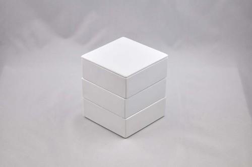 白磁のお重 中 3段