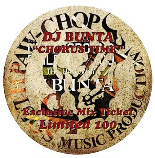 "DJ BUNTA ""Chorus Time"" (Novelty Item)"