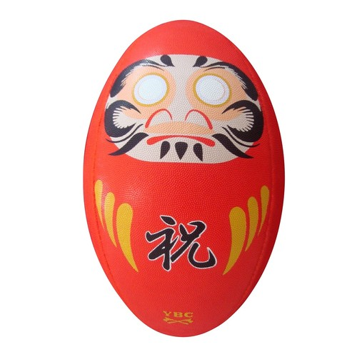【YBC】 DARUMA Rugby Ball size4 Red