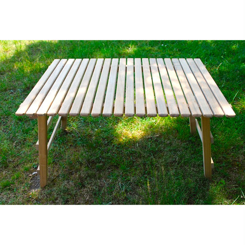 CAMP MANIA PRODUCTS(キャンプマニアプロダクツ)COMPACT MID TABLE (L)
