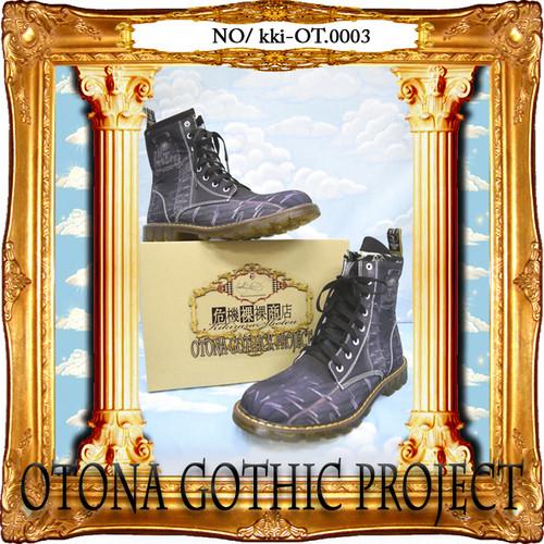 kki-OT.0003  OTONA Gothic project Printed Boots<アイアンメイデン/Iron Maiden>