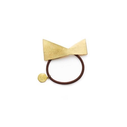 Ruban(ルバン)真鍮 ヘアゴム