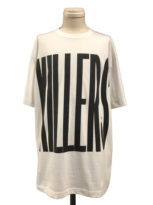 THE KILLERS SHORT SLEEVES - WHITE -