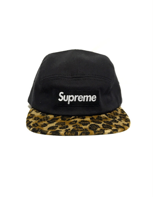 Supreme Leopard Camp Cap
