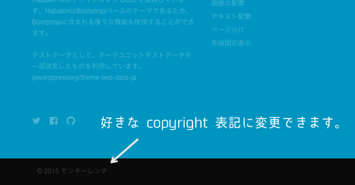 Copyright Manager - Habakiri アドオン