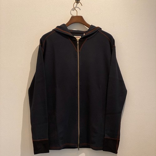 HOODED ZIP THERMAL(BLACK) / LOST CONTROL