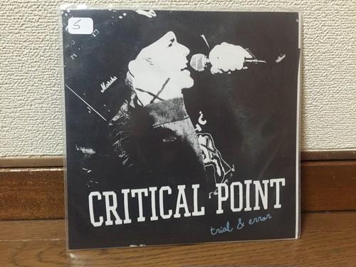 """Critical Point - Trial & Error 7"""""""
