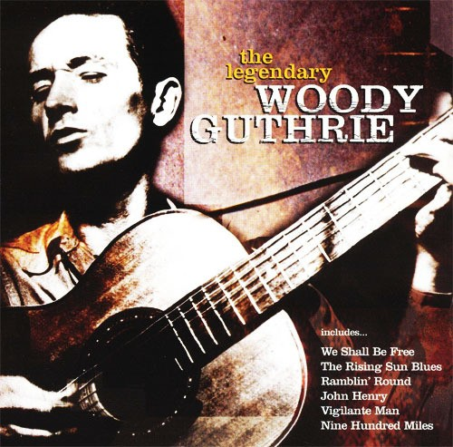 CD 「THE LEGENDARY / WOODY GUTHURIE」
