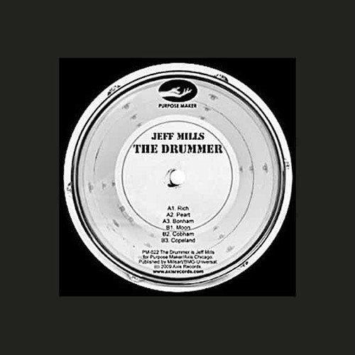 JEFF MILLS / The Drummer (12 inch)