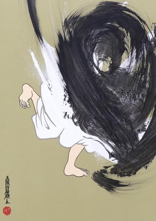 [絵画|Artworks] 擬音態画伝 ぐれりぐれり|Gurerigureri
