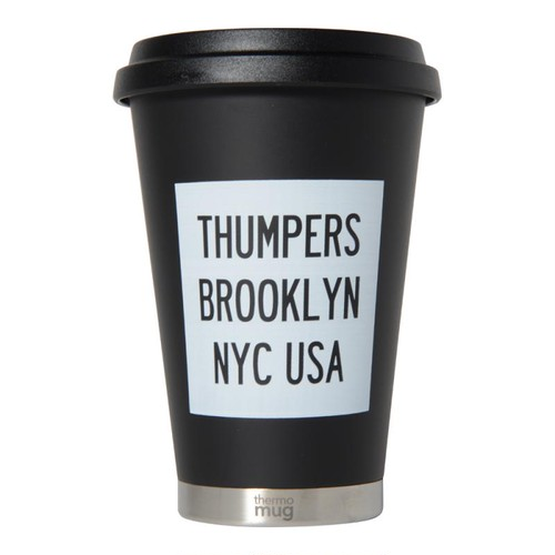 LOGO THERMO MUG(BLACK) [TH-18SS-075]