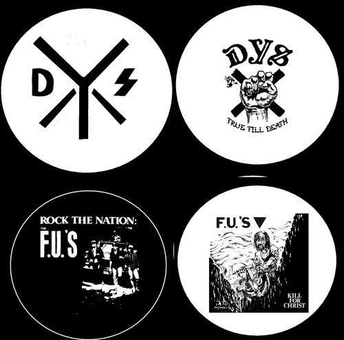 "DYS / FU's - 1"" pin button"