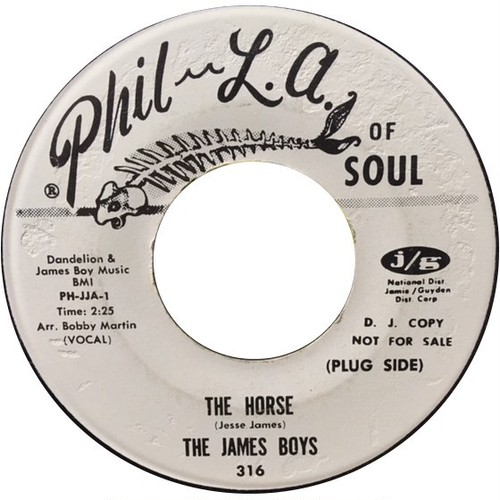 James Boys, The ‎– The Horse / The Mule