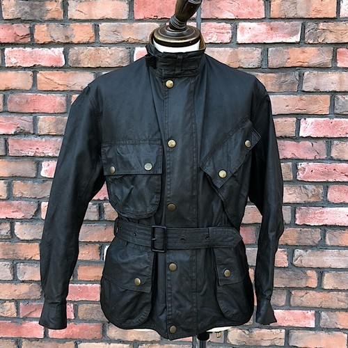 1940-50s Barbour International White Label / BLK / WB_710a