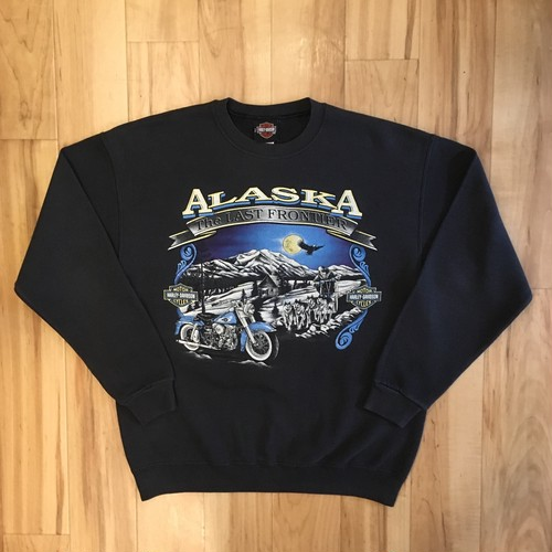 HARLEY-DAVIDSON ALASKA Sweat Long Sleeve <USED>