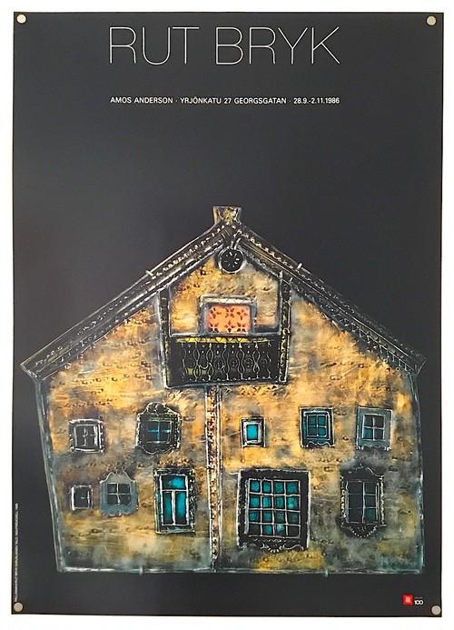 ルート・ブリュック ポスター「Karellian House (カレリアの家)」
