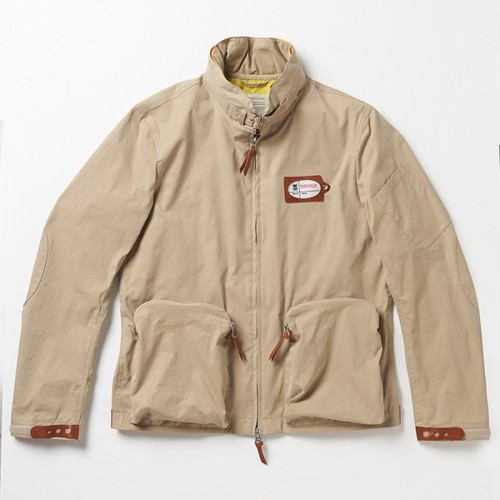 VINTAGELOVERS Food In Blouson Beige
