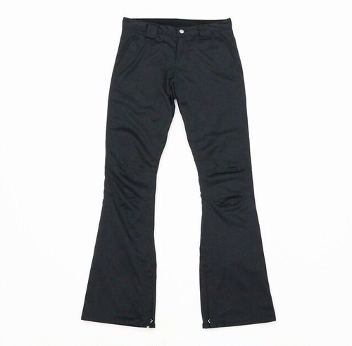 Flutter Slim Fit Pants / Black