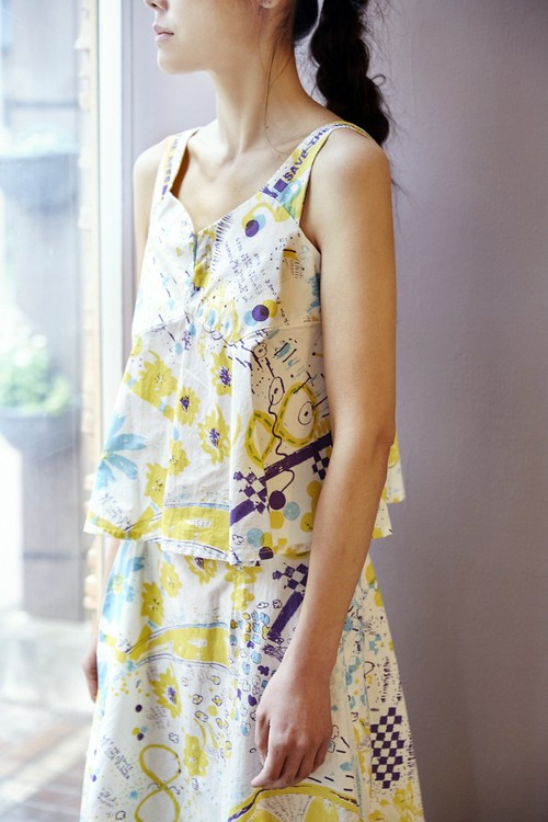 Save_The_Bee Top / E20SS-SB-BL01