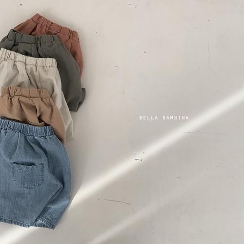 『翌朝発送』summer finger pants〈bella bambina〉