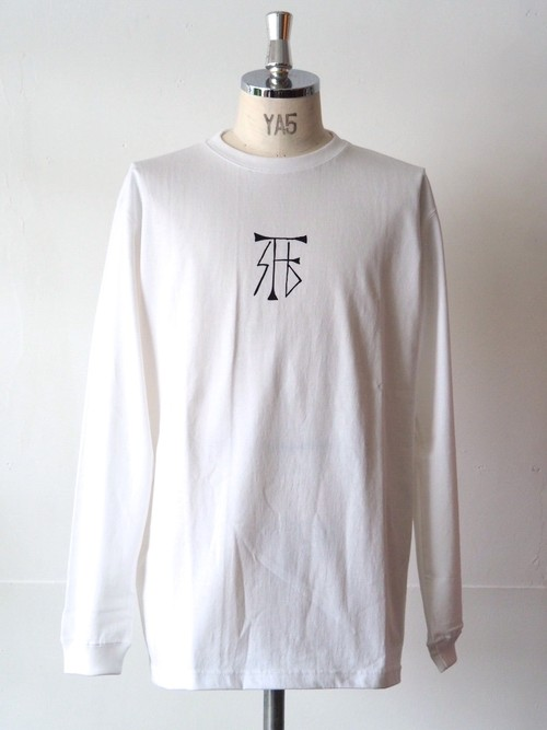 FUJITOSKATEBOARDING Long Sleeve T-Shirt  White (Mark ver.)