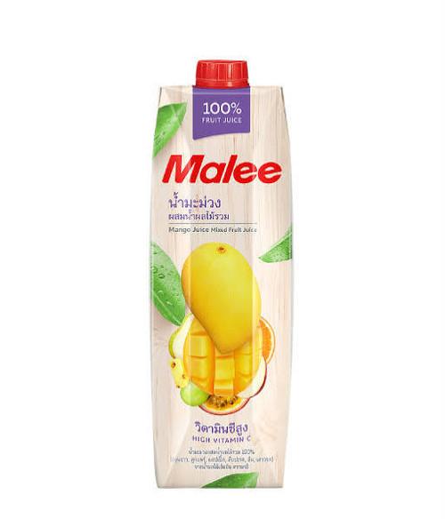 賞味期限2020.11.15Malee 100%マンゴーミックスジュース 1,000ml