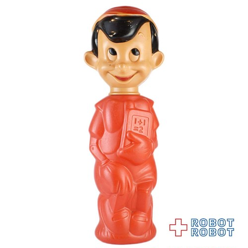 ディズニー ピノキオ ソーキー シャンプーボトル 赤ボディ