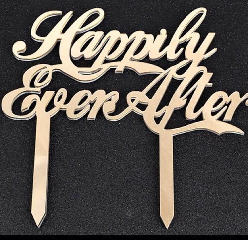 """ケーキトッパー""""Happily Ever After"""""""