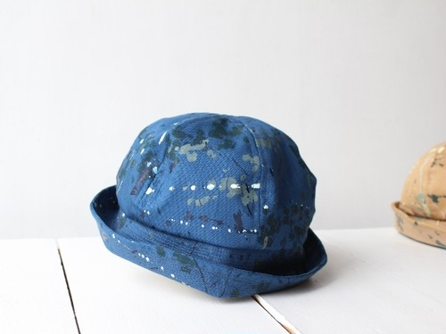 "MM×iwase yuka ""limited"" SAILORHAT BLUE 【M:56~59cm】"