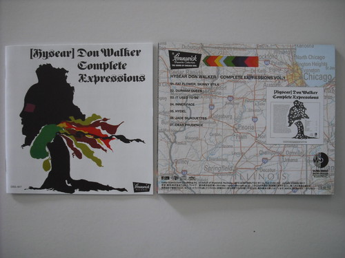 【CD】HYSEAR DON WALKER / COMPLETE EXPRESSIONS VOL.1