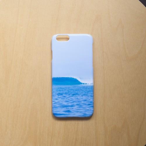 """三浦安間 iPhone6/6s ハードケース """"wave"""""""