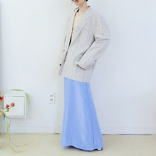 linen&cotton blend jacket